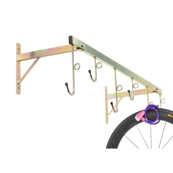 porta biciclette a parete da 6 posti