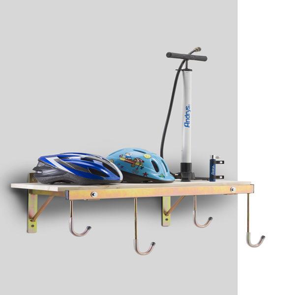 porta bici a parete 4 posti